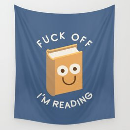 All Booked Up Wall Tapestry