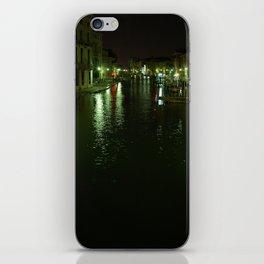 Venice at night iPhone Skin