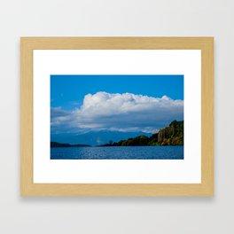 Lago Ranco  // CL Framed Art Print