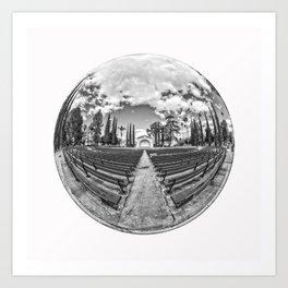Circular Fisheye #2 Art Print