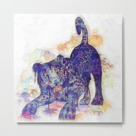 panther splash! Metal Print