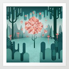 Afterglow Art Print