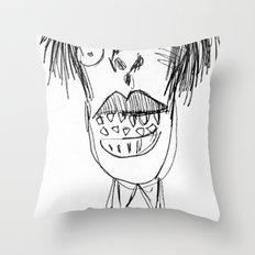 biadam Throw Pillow