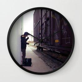 preparation Wall Clock