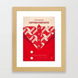 No913 My Captain Fantastic minimal movie poster Framed Art Print