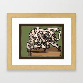 Mannequin Hands Framed Art Print