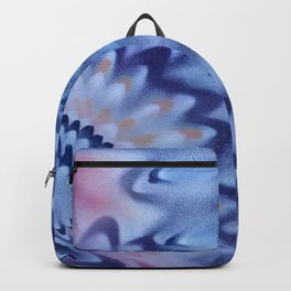 Waves of reflection color dance Backpack
