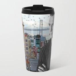 Jack Kerouac San Francisco  Travel Mug