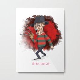 26 - Freddy krueger Metal Print