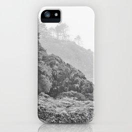 Washington Coast Mist Fog Shoreline Beach Pacific Ocean Long Beach Beards Hollow Forest Northwest iPhone Case