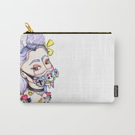 Toxic Pastel Goth Carry-All Pouch