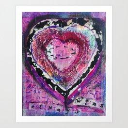 Love Always Wins Art Print