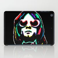 kurt cobain iPad Cases featuring Kurt   by Butt Ugly Co