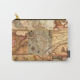 Old maps Carry-All Pouch