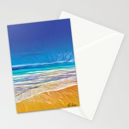 The Beach Stationery Cards