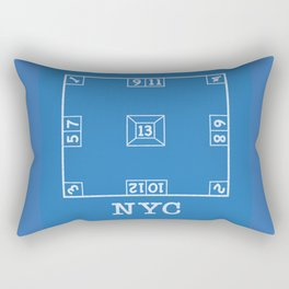 Skelzie Skelly Skully Rectangular Pillow