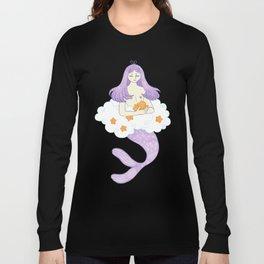 Dreaming mermaid Long Sleeve T-shirt