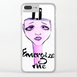 Energize me Clear iPhone Case