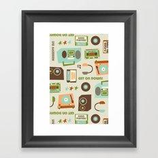 Hey DJ! Framed Art Print