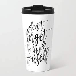 Digital Print, Typography Poster,Awesome Quote, Monochrome Art, Motivational Wall Decor Travel Mug