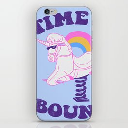 Time To Bounce iPhone Skin