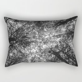 The Dark Forest Path Rectangular Pillow