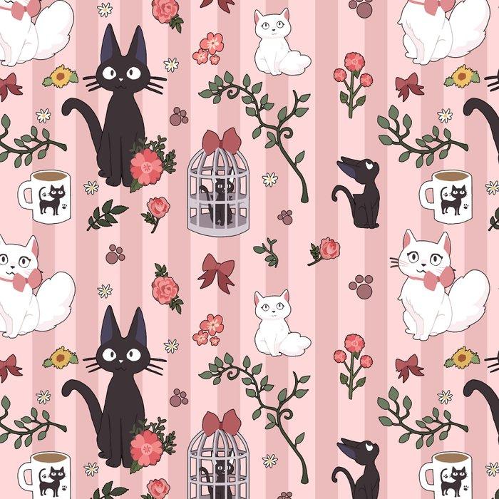 Jiji Cat Pattern Leggings