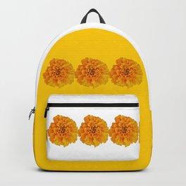 Orange Marigold Backpack