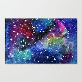 Candy Galaxy Canvas Print