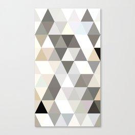 TRI 9 - GREY BEIGE Canvas Print