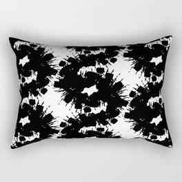 Dark flashlight Rectangular Pillow