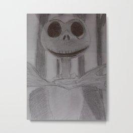 Jack The Pumpkin King  Metal Print