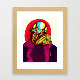 In Dio Confido Framed Art Print