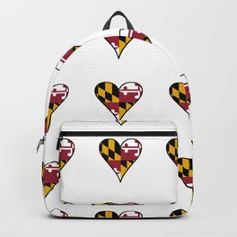 flag maryland 3-america,usa,Old Line State,marylander, America in Miniature,Baltimore,Columbia Backpack