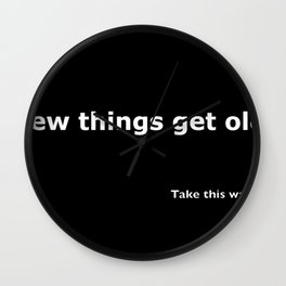 Take this waltz quote Wall Clock