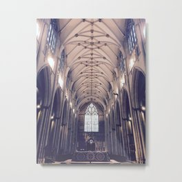 Vaulted Cathedral Ceiling Metal Print