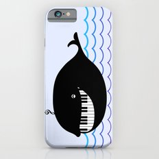 whale  (water proof piano!) Slim Case iPhone 6