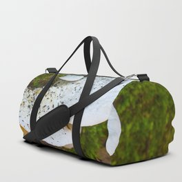 White Fungi Duffle Bag