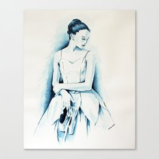 Ballerina Dancer Canvas Print