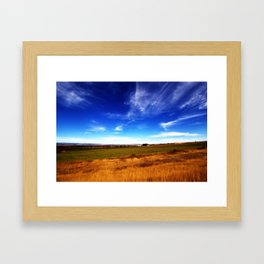 Thall Road in a Parallel Dimension Framed Art Print