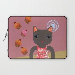 cupcake shower Laptop Sleeve
