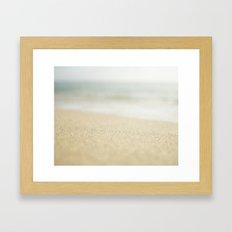 Sand Framed Art Print