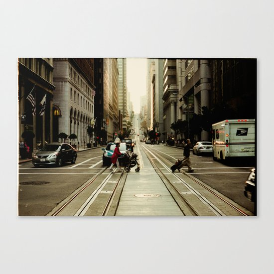 San Francisco Hills 2 Canvas Print