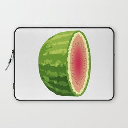 Water Melon Cut In Half Laptop Sleeve