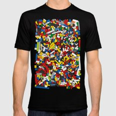 The Lego Movie X-LARGE Mens Fitted Tee Black
