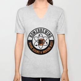For Craft Beer Lovers who Brew Their Beer at Home Light Unisex V-Neck