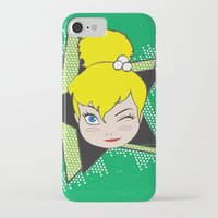 tinker bell iPhone & iPod Cases featuring I Am Smart - Tinker Bell by AmadeuxArt