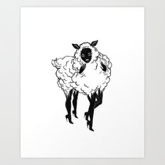 Creep Sheep Art Print
