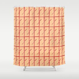 Antic pattern 12- from LBK ceramic colors Shower Curtain