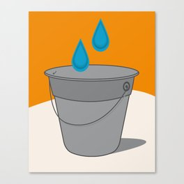 Two Tears in a Bucket Canvas Print